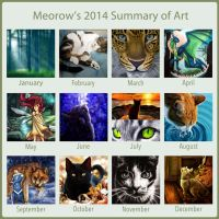 2014 Summary of Art by Meorow