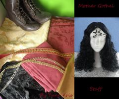 Mother Gothel cosplay stuff - Disney's Tangled by yunekris