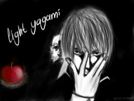 light yagami by Ceyicey
