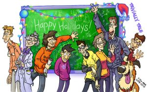 A Very Trivial Holiday by Oly-RRR