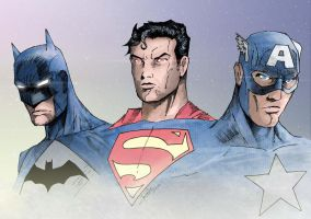 Super Heroes by J-Rayner
