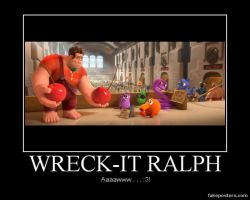 Wreck-It Ralph by Onikage108