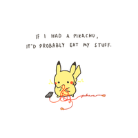 STOP EATING MY STUFF by pikarar