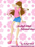 MaRgO-WinX Informal Dress by MaRgO-WinX