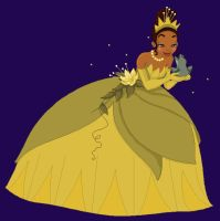 Tiana Animation :Kiss the Frog by FreeWingsS