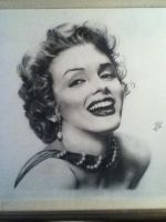 Marilyn 2nd by Surreal-Portrait