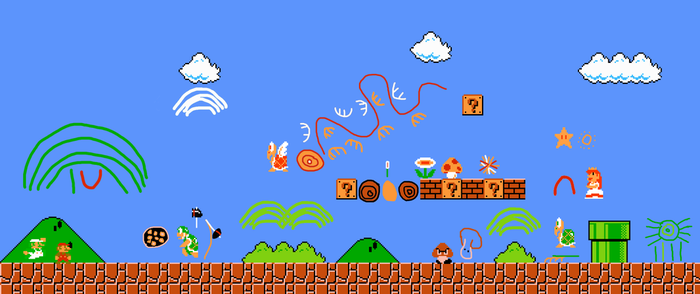 super mario bros dreamings by ChozoBoy
