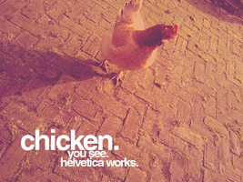 Helvetica is so pro by NoodlessAnimera