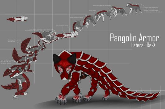 Re-X  Pangolin-Armor by DracoWolf0-0