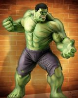 The Incredible Hulk by frostdusk