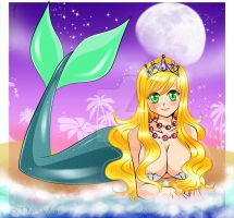 Candy Mermaid -Commission by DarkVanessaLusT