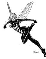 Inksketch: Wasp by Shono