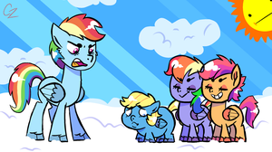 MLP - can't you be more like your sisters by Caroline263