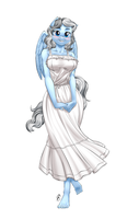 Commission - Silver Lining Summer Dress by Pia-sama