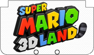 Nintendo 3DS XL Super Mario 3D Land Faceplate by TheWolfBunny