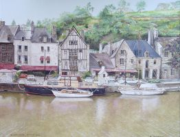 Village DINAN  Bretagne by Turksoy42