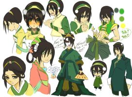 ATLA: Toph is everywhere by fanservice25