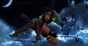 Lisa - Halloween 2015 by SnowTheWinterKitsune