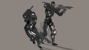 New space troopers clean by DragonAT