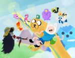 Its Adventure time! by peloses