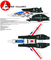 VF-1 super Valkyrie by bagera3005