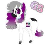 Asexual Pridesona Horatia by GamingStarLuigiSin