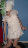 Silent Hill Nurse costume 3 by TeamAquaSuicune