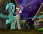 Lyra and Bon Bon of the Dream World by Atteez