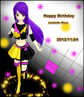 MMD Happy Birtday Lizabelle +Liza's story by brsa