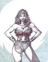 Wonder Woman SKETCH by jasinmartin