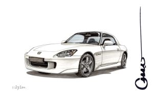 s2000 White by Omar-Dogan