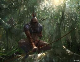 Project Warrior - Ambush by JamesPaick
