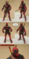 DCD style DEADPOOL custom by Mace2006