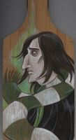 Young Severus Cutting Board by acatnamedeaster