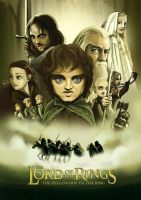 The Lord of the Rings by Xiaoyu85ve