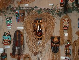 Various Masks 1 by JensStockCollection