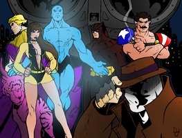 Watchmen - Uneasy Alliance by portfan