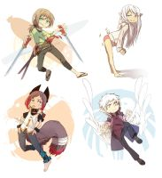chibiOCs by Nerior