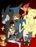 Pokemon Squad by IceLightning2028