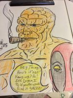 Deadpool points out the obvious  by gonegonetheformofman