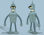 Futurama - Flexo by seancantrell