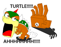 Right Hand Loves Turtles. xD by Geoffman275