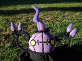 Chandelure Hat by fireflytwinkletoes