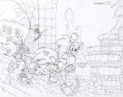 Sonic Generations - Running Through Green Hill by Hotfeet444