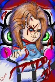 Chucky and Circus Baby by Taboochildsplay