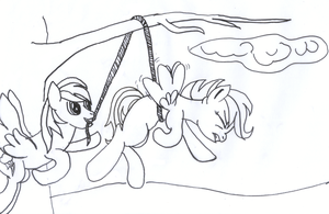 Day 21 - Flying Lessons by littlecolt