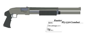 Ruster M3-530 Combat by GriffinDogR34