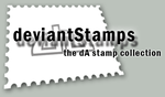 The dA stamps collection by deviantStamps