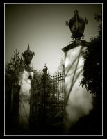 cemetery gate by The-Dog-Star