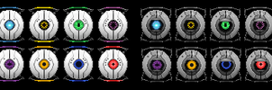 Upgraded and Downgraded Personality Cores by Quagmirefan1